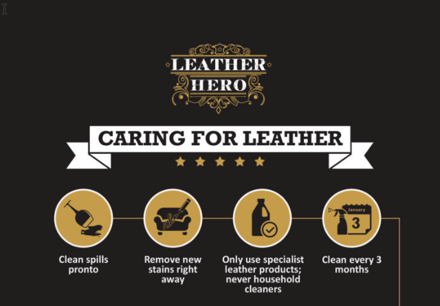 Caring For Your Leather - Leather Hero