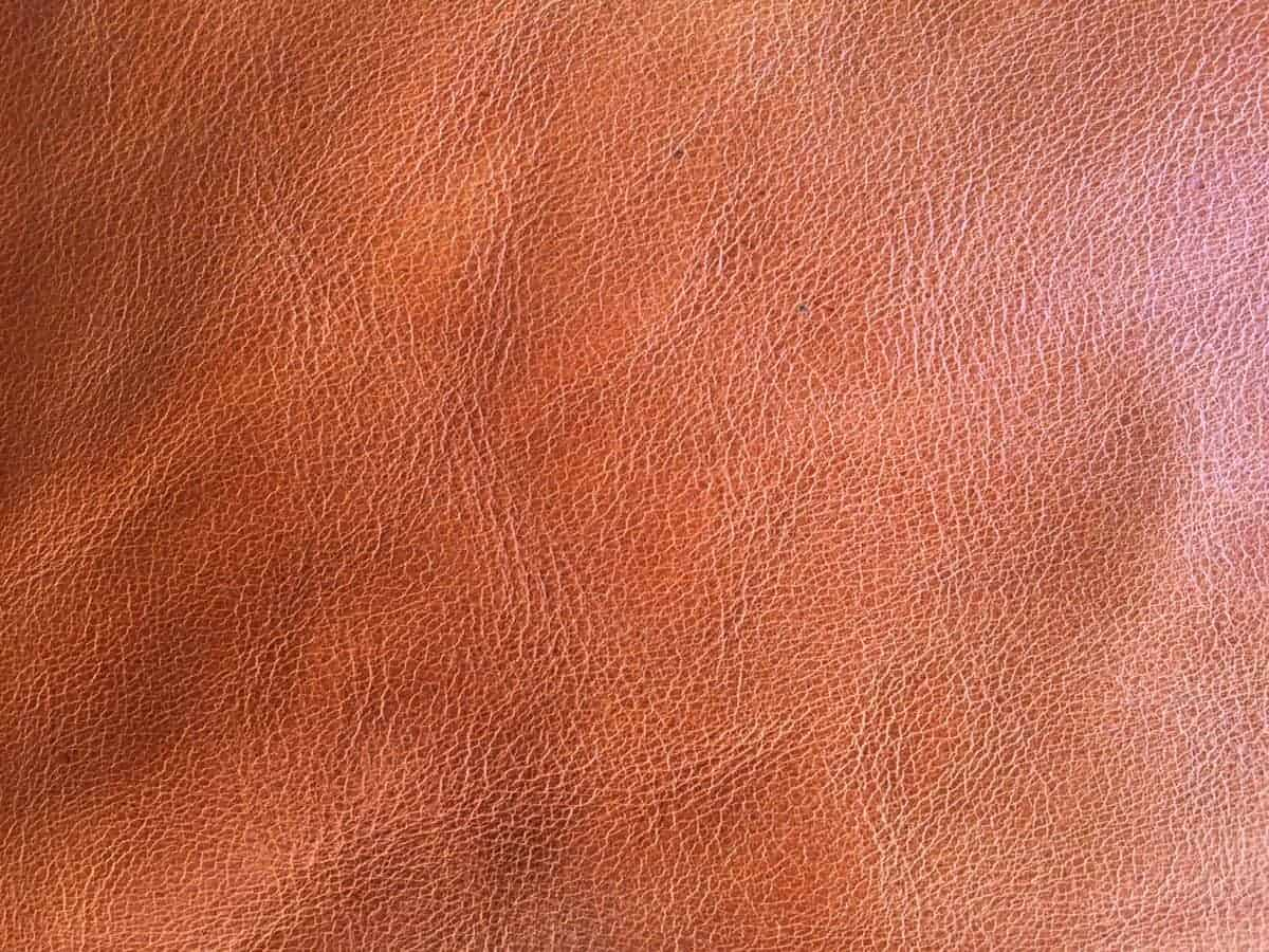 What type of leather? semi-aniline - Leather Hero