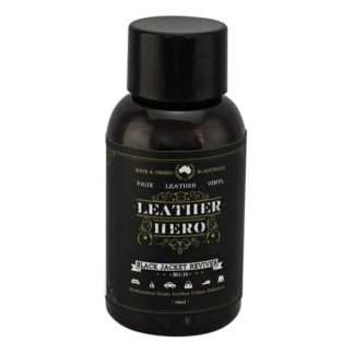 Black Leather Restoration Cream 50ml - Leather Hero