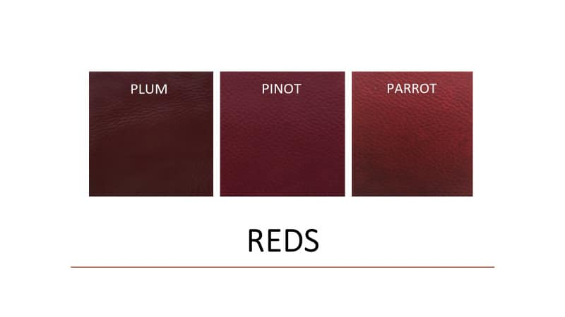 Leather Paints - Auto Reds - Leather Hero
