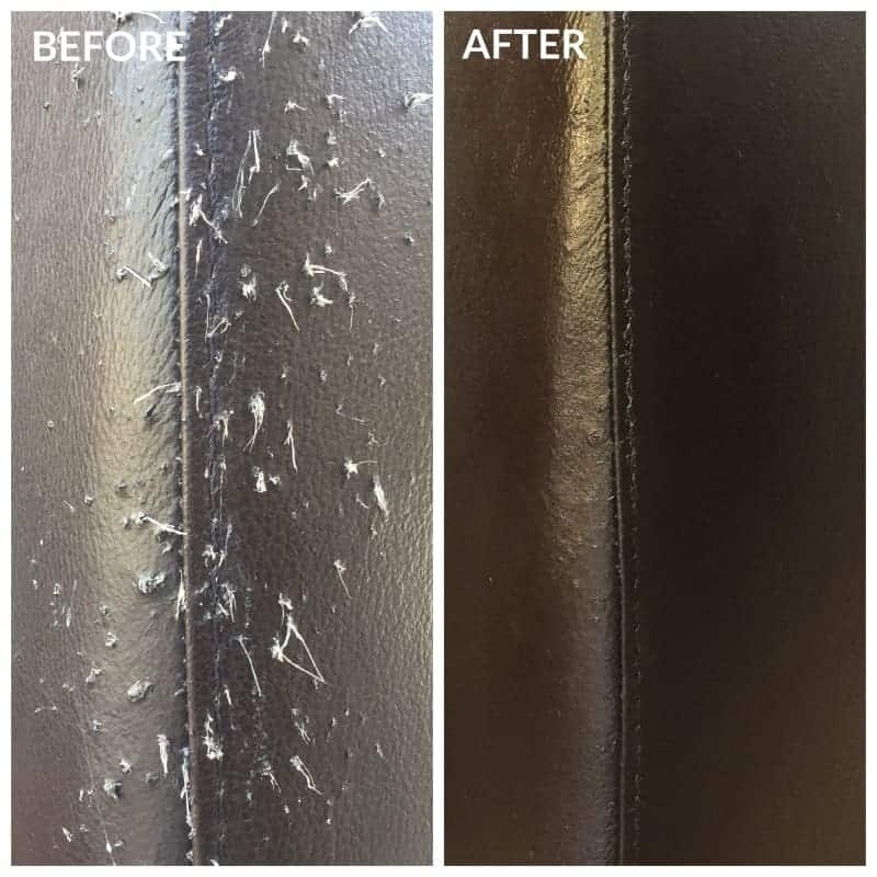 Before & After 0001 Cat Scratches - Leather Hero