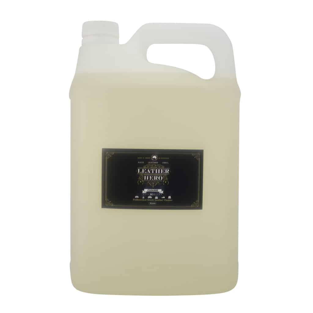 Leather Cleaner Bulk 5L - Leather Hero