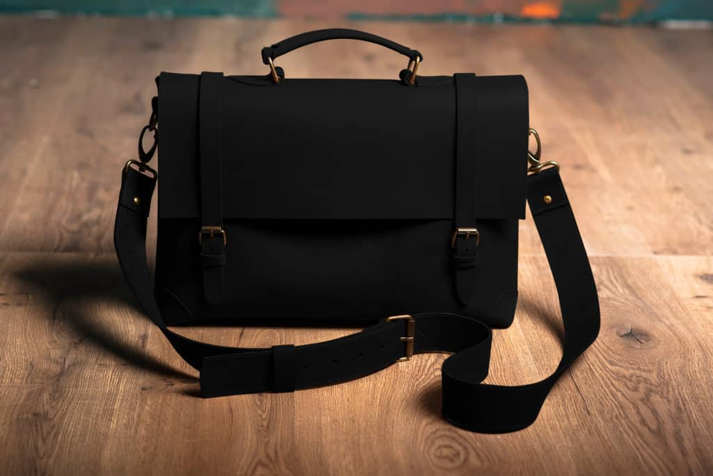 Leather Paint - Black Bag - Leather Hero