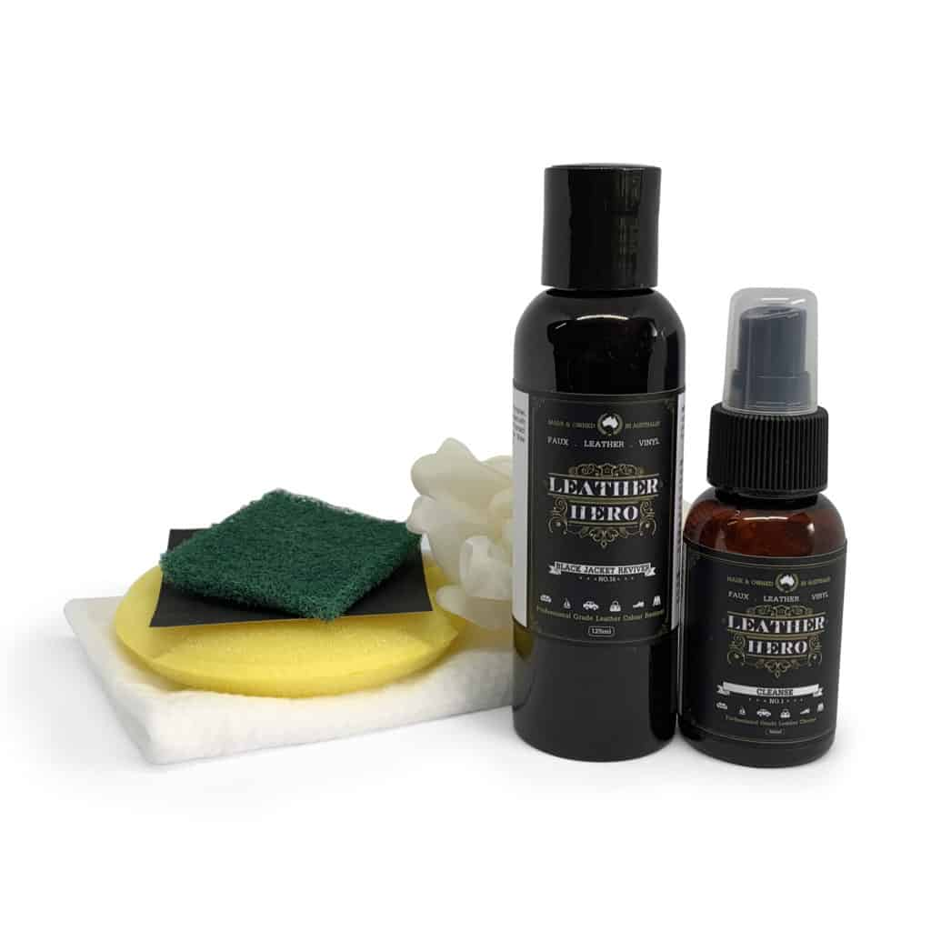 Black Jacket Reviver Kit - Leather Hero
