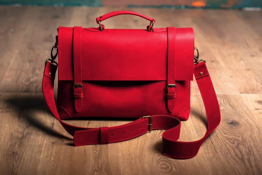 Leather Paint - Red Bag - Leather Hero
