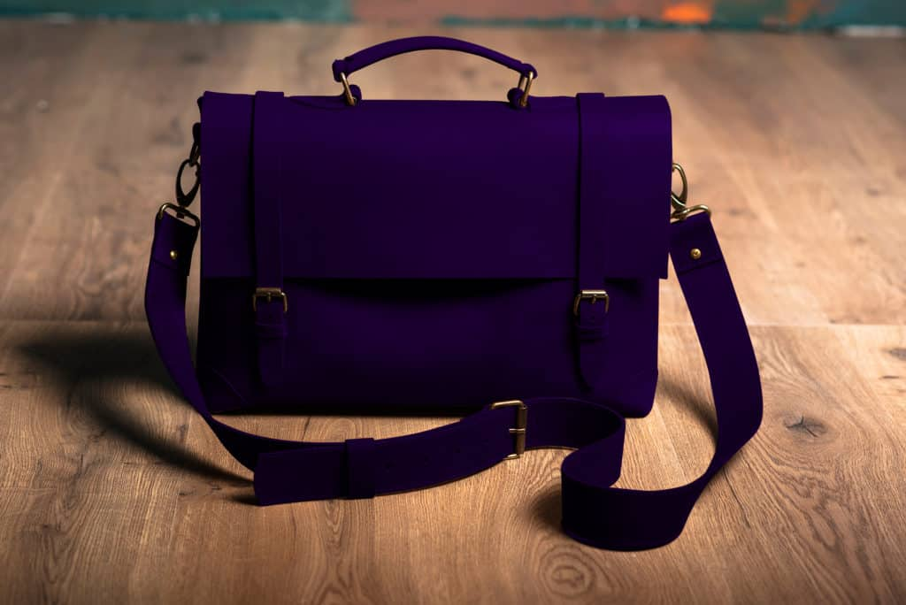 Leather Paint - Violet Bag - Leather Hero