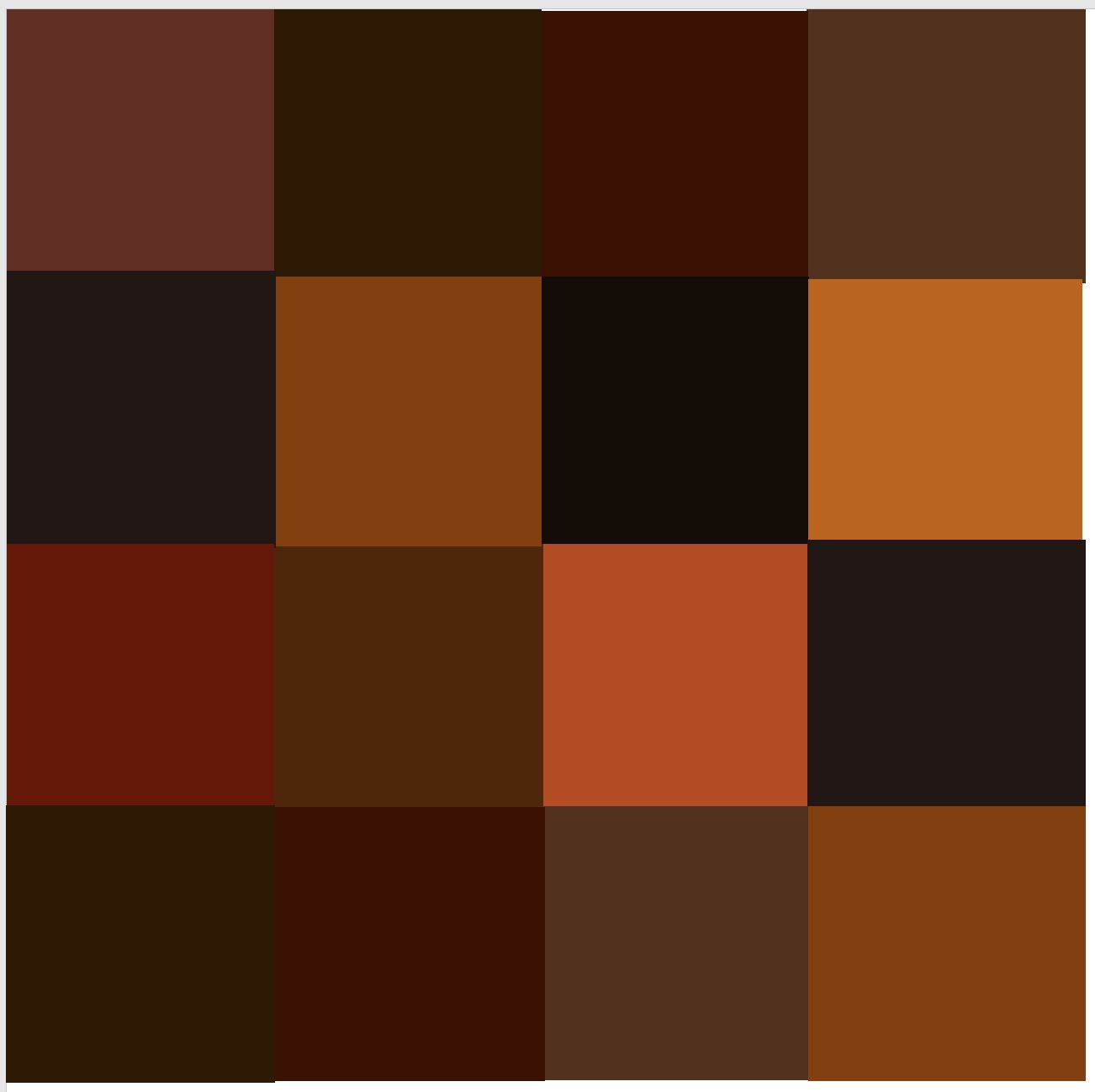 FURNITURE COLOUR CHART - Leather Hero