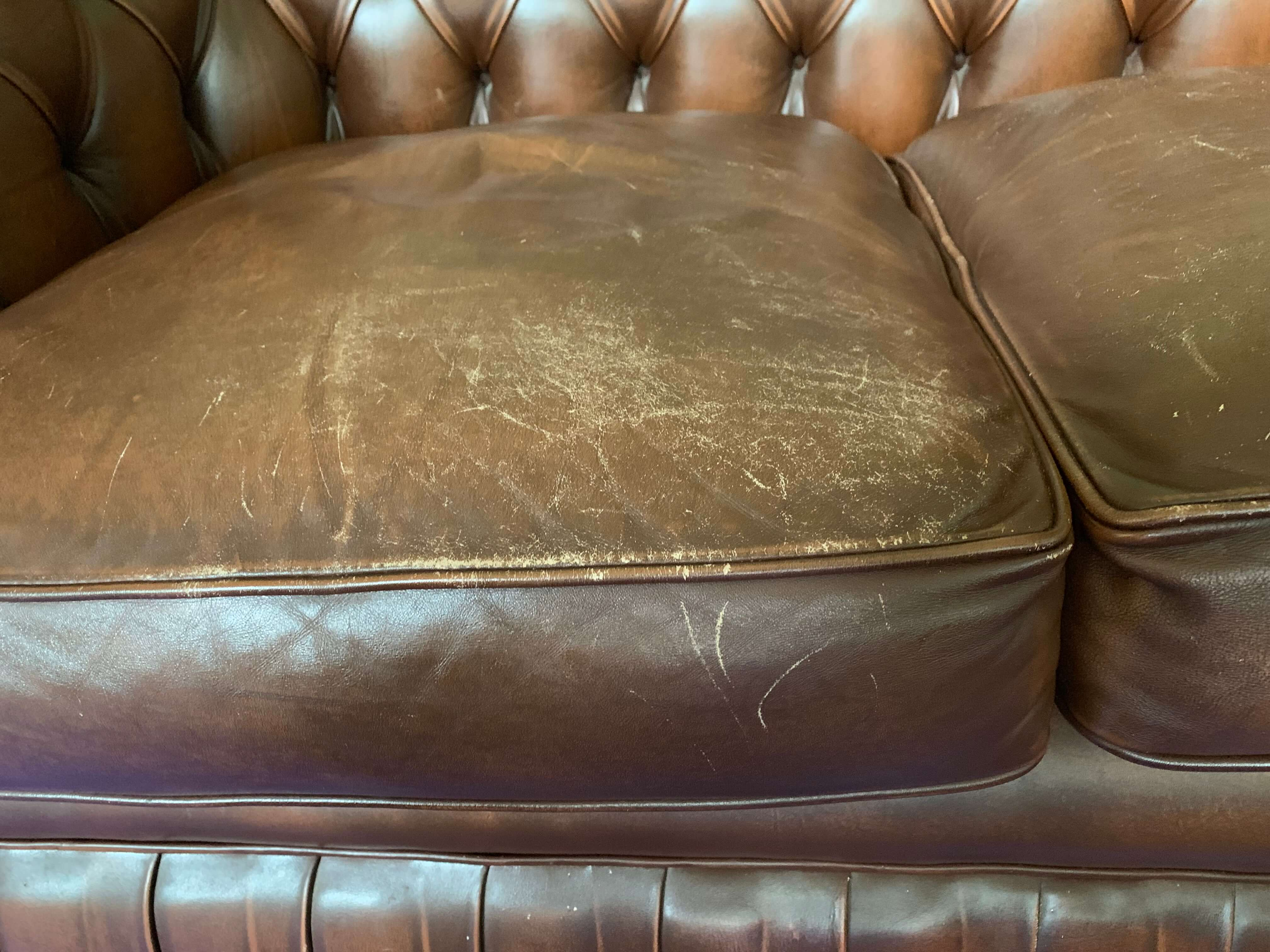 DARK BROWN Leather Dye Colouring Stain Paint Pigment Restore Saddles Repair